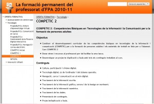Oferta formativa COMPETIC