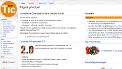 Wiki of the Day promotion Social Internet in 2008